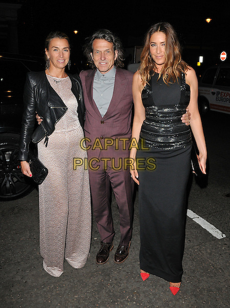 Anastasia Webster, Stephen Webster &amp; Lisa Snowdon attend the Amanda Wakeley 25th Anniversary party, Harry's Bar, South Audley Street, London, England, UK, on Monday 07 September 2015. <br /> CAP/CAN<br /> &copy;Can Nguyen/Capital Pictures