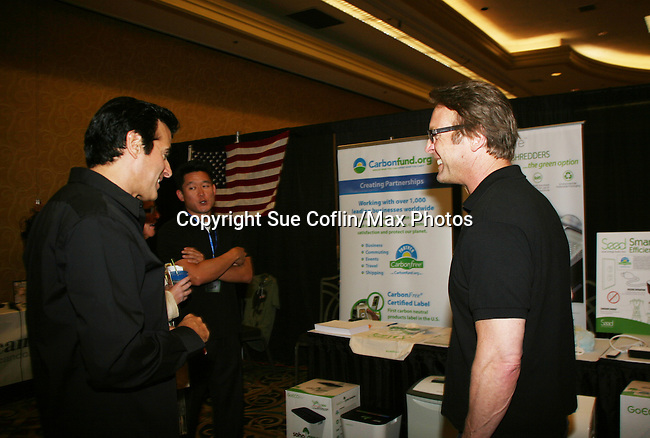 David Copperfield & Doug Davidson - Official Daytime Emmy Awards gifting Suite on June 26, 2010 during 37th Annual Daytime Emmy Awards at Las Vegas Hilton, Las Vegas, Nevada, USA. (Photo by Sue Coflin/Max Photos)
