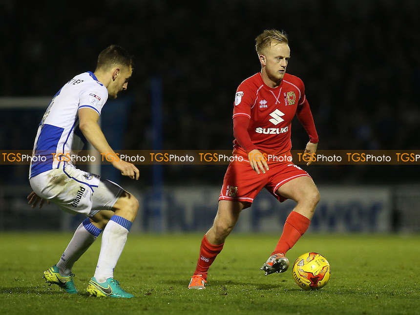 Ben Reeves of MK Dons during Bristol Rovers vs MK Dons, Sky Bet EFL League 1 Football at the Memorial Stadium on 19th November 2016