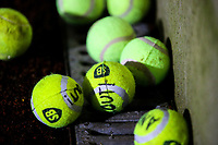 Tennis balls are thrown on the pitch before kickoff<br /> <br /> Photographer Alex Dodd/CameraSport<br /> <br /> The EFL Sky Bet Championship - Bolton Wanderers v West Bromwich Albion - Monday 21st January 2019 - University of Bolton Stadium - Bolton<br /> <br /> World Copyright © 2019 CameraSport. All rights reserved. 43 Linden Ave. Countesthorpe. Leicester. England. LE8 5PG - Tel: +44 (0) 116 277 4147 - admin@camerasport.com - www.camerasport.com