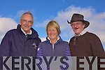 At the Races: Frankie McGrath (Kilkee), Wendy de Meur (Tipperary) and Hugh O'Donnell (Tipperary) at the races on Littor Strand, Asdee last Sunday afternoon.