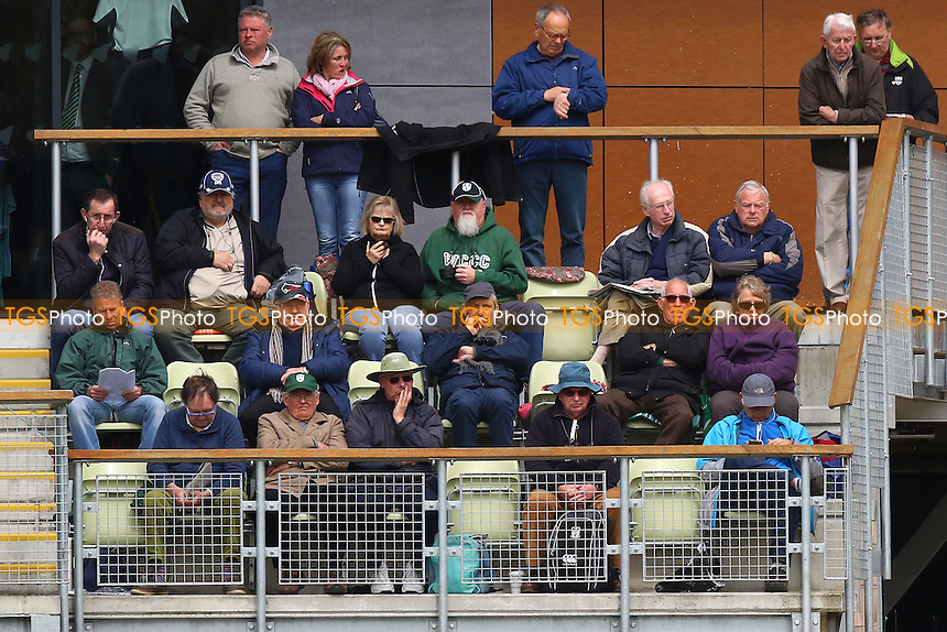 Spectators look on during Worcestershire CCC vs Essex CCC, Specsavers County Championship Division 2 Cricket at New Road on 1st May 2016