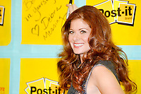 NEW YORK - AUGUST 22: Debra Messing attends the &quot;Post-It Your Words Stick With Them&quot; PS 15 school adoption at PS 15 Roberto Clemente Elementary School on August 22, 2012 in New York City. Credit: mpi81/MediaPunch Inc. /NortePhoto.com<br />