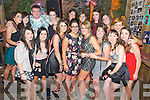 Karey Clifford, Caragh Lake, pictured with some of her friends as she celebrated her 21st birthday in Kingstons Bar and Beer garden, Killorglin on Saturday night. ........................................................................................................
