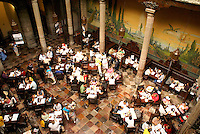 Diners in Sanborns Restaurant, House of Tiles, Mexico City