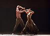English National Ballet <br /> Triple Bill<br /> at Sadler's Wells, London, Great Britain <br /> rehearsal <br /> 7th September 2015 <br /> <br /> Dust<br /> by Akram Khan <br /> <br /> Tamara Rojo <br /> James Streeter <br /> <br /> <br /> Photograph by Elliott Franks <br /> Image licensed to Elliott Franks Photography Services