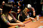 Jennifer Tilly and Vanessa Rousso in a hand against each other.