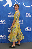 Matilda Lutz poses during a photocall of the movie 'L'Estate Addosso' presented out of competition at the 73rd Venice Film Festival on August 31, 2016 at Venice Lido.<br /> CAP/GOL<br /> &copy;GOL/Capital Pictures /MediaPunch ***NORTH AND SOUTH AMERICAS ONLY***