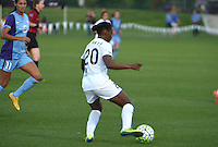 Kansas City, MO - Saturday May 28, 2016: FC Kansas City forward Tiffany McCarty (20). FC Kansas City defeated Orlando Pride 2-0 during a regular season National Women's Soccer League (NWSL) match at Swope Soccer Village.
