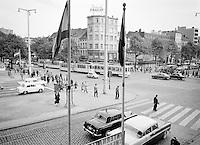 Rooseveltplaats en Leien in Antwerpen.