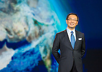 LAS VEGAS, NV - January 8 : Panasonic President Kazuhiro Tsuga pictured at CES Opening Keynote at The Venetian in Las Vegas, Nevada on January 8, 2013. Credit: Kabik/ Starlitepics / MediaPunch Inc. ***HOUSE COVERAGE*** /NortePhoto /NortePhoto