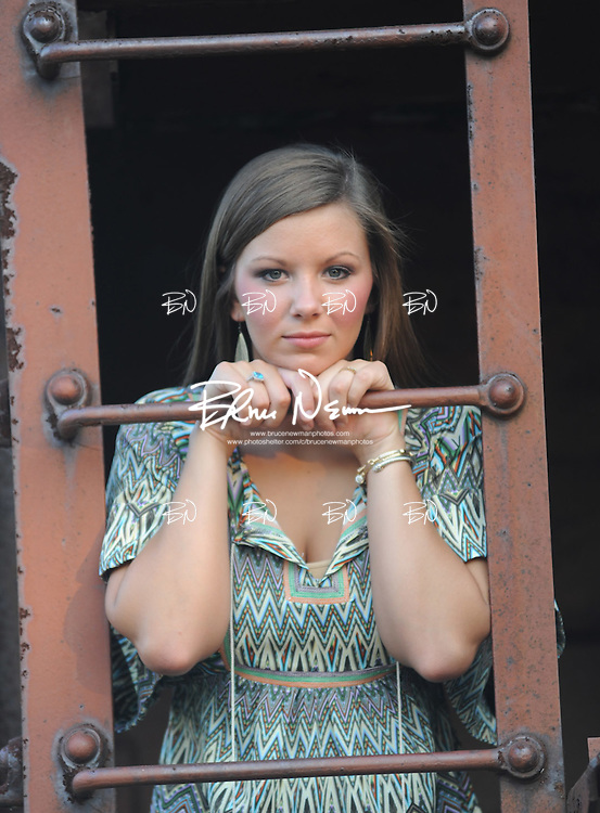 Newman Whitt senior portraits in Oxford, Miss. on Monday, June 25, 2012.