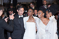 CANNES, FRANCE - May 09 2018: Samantha Mugatsia, Wanuri Kahiu, Sheila Munyiva attend the screening of 'Leto' during the 71st annual Cannes Film Festival at Palais des Festivals on May 9, 2018 in Cannes, France.<br /> Picture: Kristina Afanasyeva/Featureflash/SilverHub 0208 004 5359 sales@silverhubmedia.com