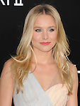 Kristen Bell at Warner Bros Pictures' L.A. Premiere of The Hangover Part 2 held at The Grauman's Chinese Theatre in Hollywood, California on May 19,2011                                                                               © 2011 Hollywood Press Agency