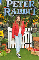 Sophia Grace Brownlee at the &quot;Peter Rabbit&quot; UK gala premiere, Vue West End cinema, Leicester Square, London, England, UK, on Sunday 11 March 2018.<br /> CAP/CAN<br /> &copy;CAN/Capital Pictures