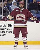 Mike Brennan - The University of Massachusetts-Lowell River Hawks defeated the Boston College Eagles 6-3 on Saturday, February 25, 2006, at the Paul E. Tsongas Arena in Lowell, MA.