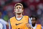 Chelsea Defender Marcos Alonso Warming up during the International Champions Cup 2017 match between FC Internazionale and Chelsea FC on July 29, 2017 in Singapore. Photo by Marcio Rodrigo Machado / Power Sport Images