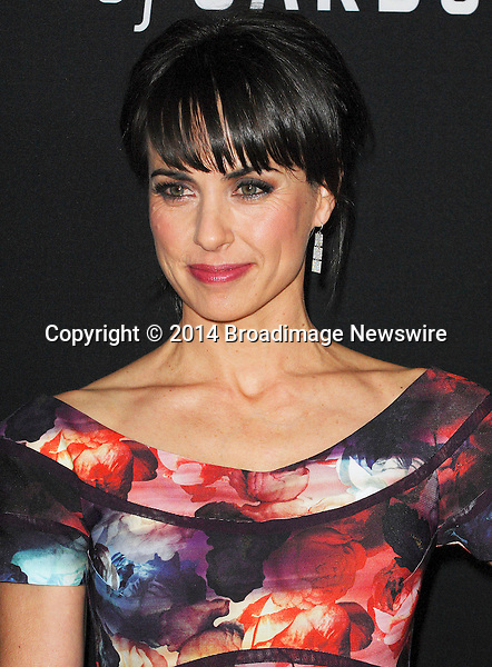 Pictured: Constance Zimmer<br /> Mandatory Credit &copy; Adhemar Sburlati/Broadimage<br /> Film Premiere of House of Cards<br /> <br /> 2/13/14, Los Angeles, California, United States of America<br /> <br /> Broadimage Newswire<br /> Los Angeles 1+  (310) 301-1027<br /> New York      1+  (646) 827-9134<br /> sales@broadimage.com<br /> http://www.broadimage.com