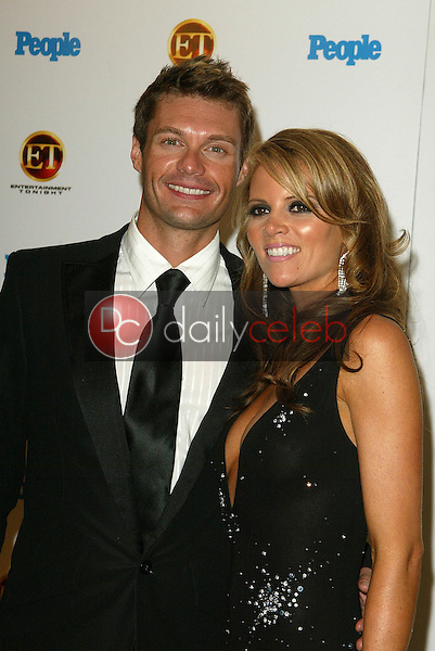 Ryan Seacrest and friend<br /> At the Entertainment Tonight Emmy Party Sponsored by People Magazine, The Mondrian Hotel, West Hollywood, CA 09-18-05<br /> Jason Kirk/DailyCeleb.com 818-249-4998