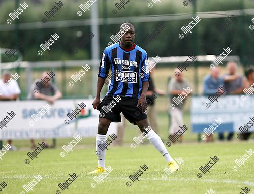 2010-07-21 / Seizoen 2010-2011 / Voetbal / K. Rupel Boom / Raoul Avansay Ngadrira..Foto: mpics