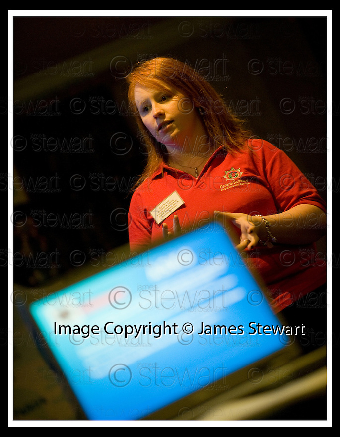 "09/10/2008  Copyright Pic: James Stewart.File Name : 10_fcpp.FALKIRK COMMUNITY PLANNING PARTNERSHIP CONFERENCE :: ""STRONGER TOGETHER"".CERI HUNTER, CENTRAL SCOTLAND FIRE & RESCUE SERVICE, ADDRESSES THE CONFERENCE......James Stewart Photo Agency 19 Carronlea Drive, Falkirk. FK2 8DN      Vat Reg No. 607 6932 25.Studio      : +44 (0)1324 611191 .Mobile      : +44 (0)7721 416997.E-mail  :  jim@jspa.co.uk.If you require further information then contact Jim Stewart on any of the numbers above........"
