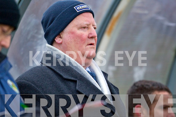 County Bord Chairman Jerome Conway Kerry v Cork in the Semi Final of the McGrath Cup at Lewis Road, Killarney on Sunday 23rd July 2011.
