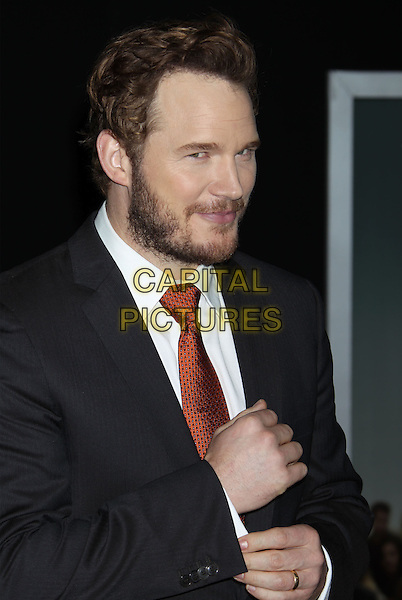 HOLLYWOOD, CA. - NOVEMBER 03: Chris Pratt at the &quot;Delivery Man&quot; Los Angeles Premiere held at the El Capitan Theatre on November 3rd, 2013 in Hollywood, California, USA.<br /> CAP/ADM/RE<br /> &copy;Russ Elliot/AdMedia/Capital Pictures