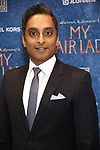 Manu Narayan attends the Broadway Opening Night Celebration for 'My Fair Lady' at The Grand Promenade, David Geffen Hall on April 19, 2018 in New York City.