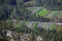 aerial photograph coastal Santa Cruz county, California