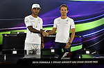 Lewis Hamilton (GBR), Mercedes GP - Nico Rosberg (GER), Mercedes GP <br />  Foto &copy; nph / Mathis