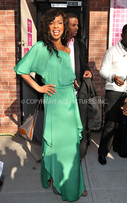 WWW.ACEPIXS.COM . . . . .  ....January 9 2012, New York City....Actress Wendy Raquel Robinson at the 'Wendy Williams Show' taping at AMV Studios on January 9, 2012 in New York City.....Please byline: CURTIS MEANS - ACE PICTURES.... *** ***..Ace Pictures, Inc:  ..Philip Vaughan (212) 243-8787 or (646) 679 0430..e-mail: info@acepixs.com..web: http://www.acepixs.com