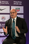 Mark Sutcliffe talks during the press conference for the Premier League Asia Trophy 2017 at the Grand Hyatt Hong Kong on 01 June 2017 in Hong Kong, China. Photo by Chris Wong / Power Sport Images.