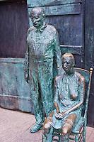 Social Security Recipients, Bronze sculpture,  Franklin Delano Roosevelt, Memorial, Washington, D.C. USA