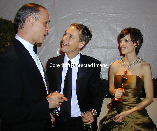 Chad Lowe &amp; Hillary Swank<br />