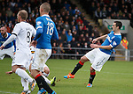 Lee Wallace scores the second goal for Rangers