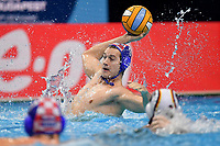 9 MILOS Lovre Croatia <br /> Budapest 14/01/2020 Duna Arena <br /> CROATIA (white caps) Vs. GERMANY (blue caps) Men  <br /> XXXIV LEN European Water Polo Championships 2020<br /> Photo  © Andrea Staccioli / Deepbluemedia / Insidefoto