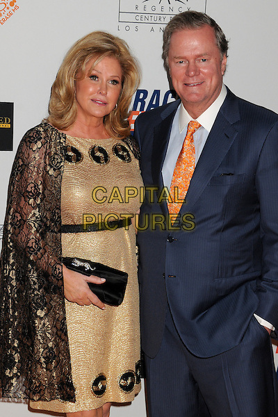 02 May 2014 - Century City, California - Kathy Hilton, Rick Hilton. 21st Annual Race to Erase MS Gala held at the Hyatt Regency Century Plaza.  <br /> CAP/ADM/BP<br /> &copy;Byron Purvis/AdMedia/Capital Pictures