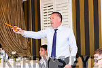 Tom Spillane Auctioneer at the auction of 110 acres of land in Beaufort in the Royal Hotel Killarney on Thursday