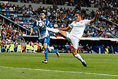 1st October 2017, Santiago Bernabeu, Madrid, Spain; La Liga football, Real Madrid versus Espanyol; Lucas Vaazquez Iglesias (17) Real Madrid