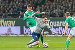 08.03.2019, Weser Stadion, Bremen, GER, 1.FBL, Werder Bremen vs FC Schalke 04, <br /> <br /> DFL REGULATIONS PROHIBIT ANY USE OF PHOTOGRAPHS AS IMAGE SEQUENCES AND/OR QUASI-VIDEO.<br /> <br />  im Bild<br /> <br /> Milot Rashica (Werder Bremen #11)<br /> Steven Skrzybski (FC Schalke 04 #22)<br /> <br /> Foto &copy; nordphoto / Kokenge