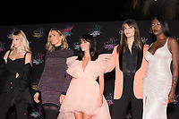 Belgian singer Angele Josephine Aimee Van Laeken aka Angele, French singer Charlotte Gonin aka Vitaa, French singer Jenifer Bartoli aka Jenifer, French singer Clara Luciani and French singer Aya Danioko aka Aya Nakamura pose on the red carpet as she arrives to attend the 21st NRJ Music Awards ceremony at the Palais des Festivals in Cannes, southeastern France, on November 9, 2019<br /> La chanteuse belge Angele Josephine Aimee Van Laeken alias Angele, la chanteuse française Charlotte Gonin alias Vitaa, la chanteuse française Jenifer Bartoli alias Jenifer, la chanteuse française Clara Luciani et la chanteuse française Aya Danioko alias Aya Nakamura posent sur le tapis rouge lors de son arrivee a la 21e ceremonie des NRJ Music Awards au Palais des Festivals a Cannes, dans le sud-est de la France - le 9 novembre 2019.<br /> Eric Dervaux_ DALLE