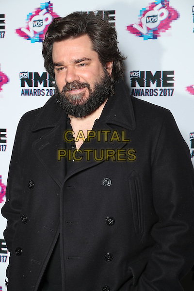 Matt Berry<br /> The VO5 NME Awards 2017 at the O2 Academy, Brixton, London on February 15th 2017<br /> CAP/GOL<br /> &copy;GOL/Capital Pictures
