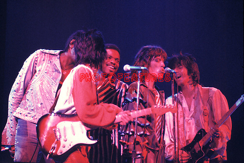 Rolling Stones 1976  with Billy Preston..
