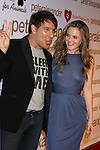 LOS ANGELES, CA. - October 22: Designer Peter Alexander and actress Alicia Silverstone  arrive at the Peter Alexander Flagship Boutique Grand Opening And Benefit on October 22, 2008 in Los Angeles, California.