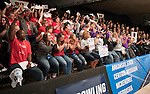 16 APR 2016:  A general view of the crowd during the Division I Women's Bowling Championship held at the Brunswick Zone Carolier in North Brunswick, NJ.  Stephen F. Austin State won the national title.  Ben Solomon/NCAA Photos