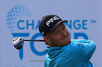 Adrian Meronk (POL) on the 8th tee during Round 2 of the Challenge Tour Grand Final 2019 at Club de Golf Alcanada, Port d'Alcúdia, Mallorca, Spain on Friday 8th November 2019.<br /> Picture:  Thos Caffrey / Golffile<br /> <br /> All photo usage must carry mandatory copyright credit (© Golffile | Thos Caffrey)