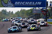 Race Start, #10 Robillard Racing Norma M30, LMP3: Joe Robillard, Stevan McAleer