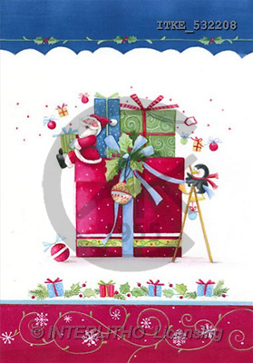 Isabella, CHRISTMAS SANTA, SNOWMAN, paintings(ITKE532208,#X#) Weihnachtsmänner, Schneemänner, Weihnachen, Papá Noel, muñecos de nieve, Navidad, illustrations, pinturas