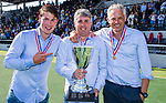 AMSTELVEEN - LAREN JA1 wint titel bij jongens A. finales A en B jeugd  Nederlands Kampioenschap. Thomas Vis, Gerard van Uunen en Serge Spoelstra.  COPYRIGHT KOEN SUYK
