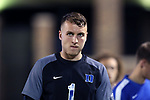 DURHAM, NC - NOVEMBER 25: Duke's Will Pulisic. The Duke University Blue Devils hosted the Fordham University Rams on November 25, 2017 at Koskinen Stadium in Durham, NC in an NCAA Division I Men's Soccer Tournament Third Round game. Fordham advanced 8-7 on penalty kicks after the game ended in a 2-2 tie after overtime.
